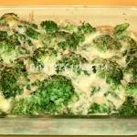 Брокколи запеченная в духовке с сыром