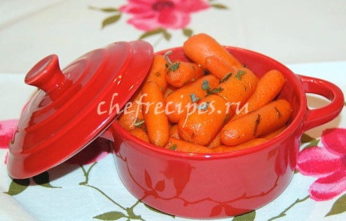 Кисло-сладкая морковь