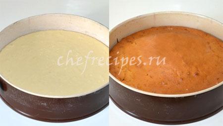 Мягкий торт с маскарпоне
