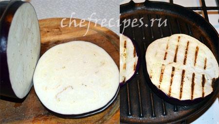 Пицца на баклажане