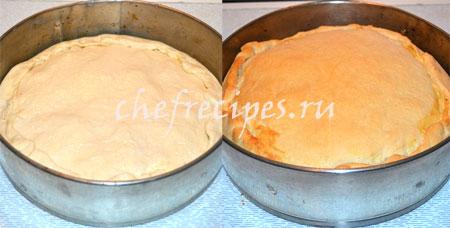 Закрытый пирог с салями