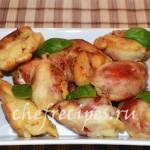 Помидоры фаршированные сыром и оливками