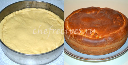 пирог с ветчиной