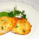 Жареная рыба фаршированная сыром