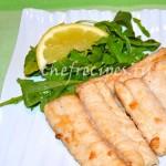 Жареная рыба с имбирем