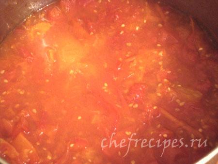 вареные помидоры