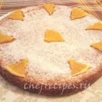 пирог с морковкой и апельсиновым соком