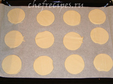 основание слоеного печенья