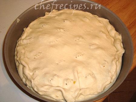закрываем пирог