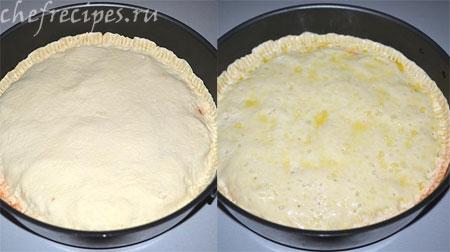 выпекаем пирог с рикоттой
