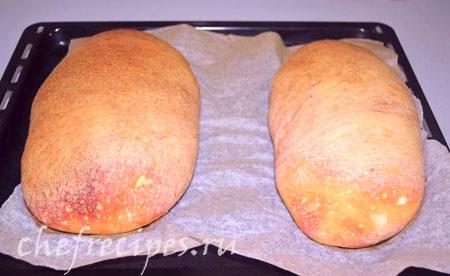 хлеб с дрожжами