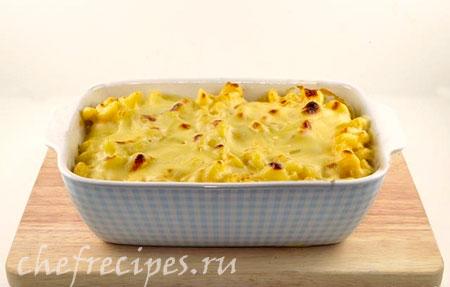 макароны запеченные с сыром