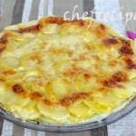 запеченный картофель с сыром и ветчиной