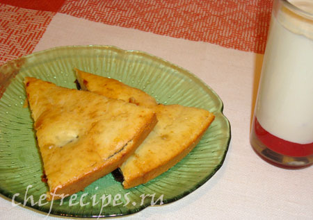 Клафути: рецепт с черносливом