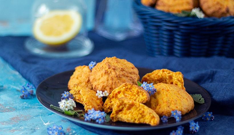 Домашнее морковное печенье — простой рецепт: все смешал и готово