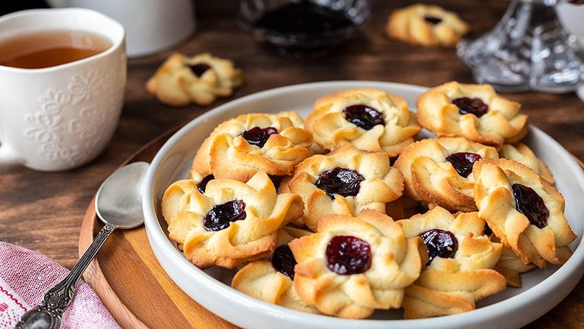 Песочное печенье «Курабье бакинское». Простой рецепт.